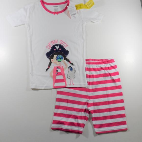NWT Girl/'s Gymboree Owl shirt shorts pajamas gymmies ~  3